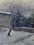 Хутор под снегом