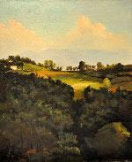 Italie, paysage piémontais