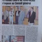 французская пресса о выставке в Ле-Пюи-ан-Веле