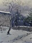 Хутор в снегу