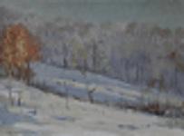 Снег, гора